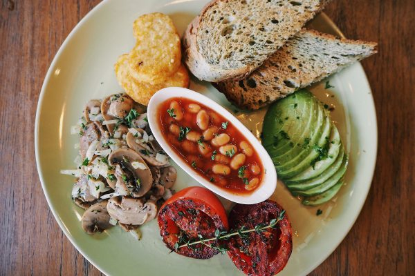theera vegan breakfast