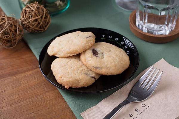 vegan choc chip cookie