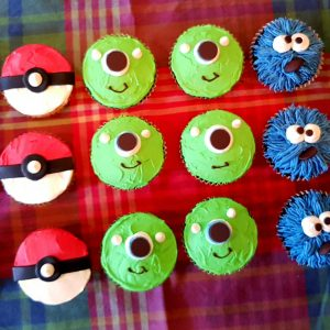 cupcake party set