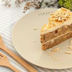 carrot chia seed cake