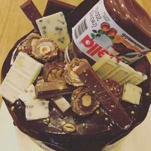 chocolate fudge bomb