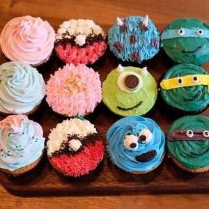 cupcake party mixed set