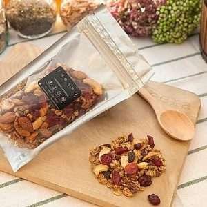 gluten free vegan granola cranberry
