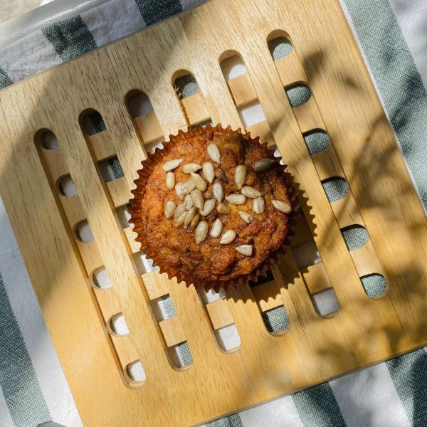 carrot apple muffin