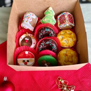 festive gift box christmas