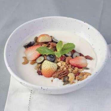 Berry, Yogurt, Granola Bowl